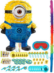 Pull String Stuart Minion Pinata Kit with Favors - Despicable Me 2