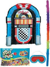 Jukebox Pinata Kit - Classic 50s