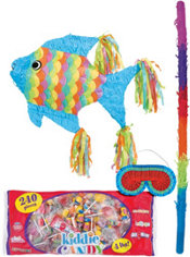 Tropical Fish Pinata Kit