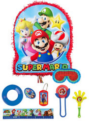 Super Mario Pinata Kit with Favors
