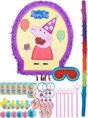 Peppa Pig Pinata Kit with Favors