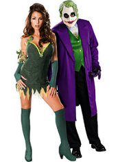 Poison Ivy and The Joker Couples Costumes