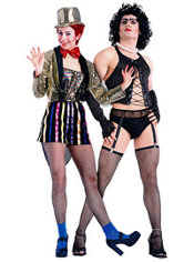 Columbia and Dr. Frank N Furter Rocky Horror Picture Show Couples Costumes