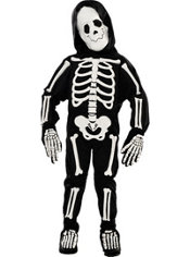 Toddler Boys Skeleton Costume