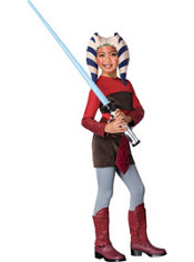 Girls Ahsoka Costume - Star Wars Clone Wars