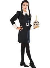 Girls Wednesday Addams Costume - Addams Family