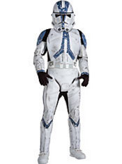 Boys Trooper Costume Deluxe - Star Wars Clone Wars