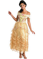 Adult Belle Costume Deluxe