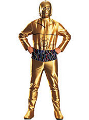 Adult C3PO Costume - Star Wars