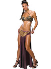 Adult Princess Leia Slave Costume - Star Wars