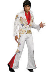 Adult Aloha Elvis Costume Collectors Edition