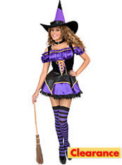 Adult Midnight Witch Costume