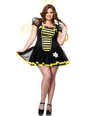 Adult Daisy Bee Costume Plus Size
