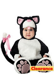 Baby Lil Kitty Cat Costume Deluxe