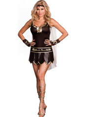 Adult Babe-A-Lonian Warrior Queen Costume Plus Size