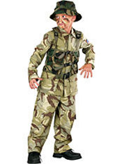 Boys Delta Force Soldier Costume