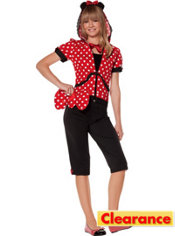 Teen Girls Missy Mouse Costume