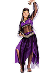 Girls Harem Princess Costume