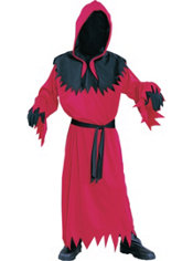 Boys Red Unknown Phantom Costume