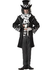 Adult Dark Mad Hatter Costume