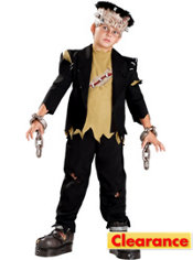 Boys Shackles Monster Costume Elite