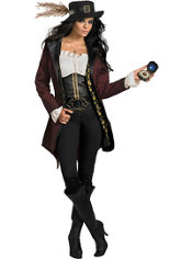 Adult Angelica Costume Prestige - Pirates of the Caribbean