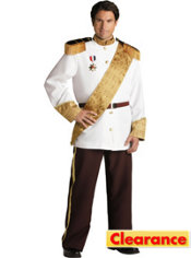 Adult Prince Charming Costume Plus Size Elite