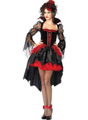 Adult Midnight Mistress Sexy Vampire Costume
