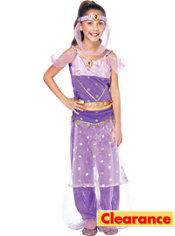 Girls Magic Genie Costume