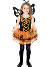 Girls Beautiful Butterfly Costume