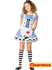Girls Miss Wonderland Costume