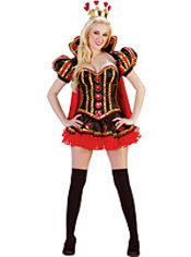 Adult Queen of Hearts Costume Deluxe