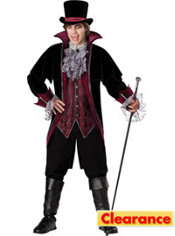 Adult Vampire of Versailles Costume Elite
