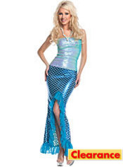 Adult Sequin Mermaid Costume