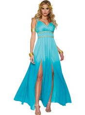 Adult Blue Aphrodite Costume