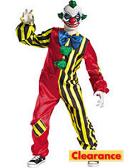 Boys Circus Creep Clown Costume