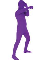 Boys Purple Morphsuit