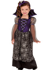 Toddler Girls Miss Web Wicked Witch Costume