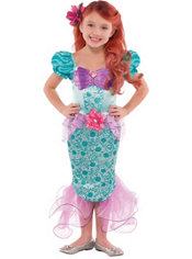 Girls Ariel Costume - The Little Mermaid