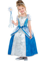 Girls Cinderella Costume Supreme