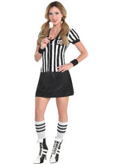 Adult Nicely Played Sexy Referee Costume