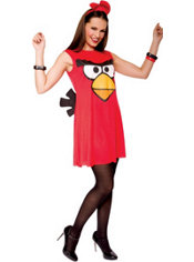 Adult Sassy Red Angry Birds Costume