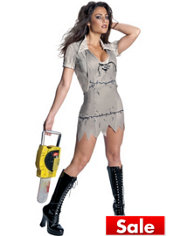 Adult Ms. Leatherface Costume