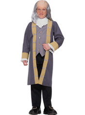 Boys Ben Franklin Costume