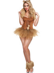 Adult Queen of the Jungle Costume