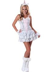 Teen Girls Unicorn Costume