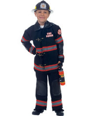 Boys Firefighter Costume Deluxe