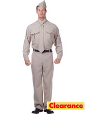 Adult 40s Soldier Costume