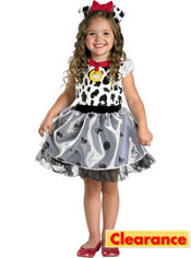 Toddler Girls 101 Dalmatians Costume