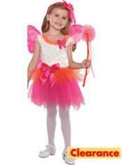 Girls Fuchsia Eloise Fairy Princess Costume